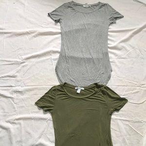 Fashion Nova Tops - Fashion nova Curved hem t shirt